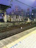 上野駅夜明け前、気温5度