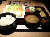 今年最後の大阪での昼食