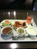 久々の大阪朝食